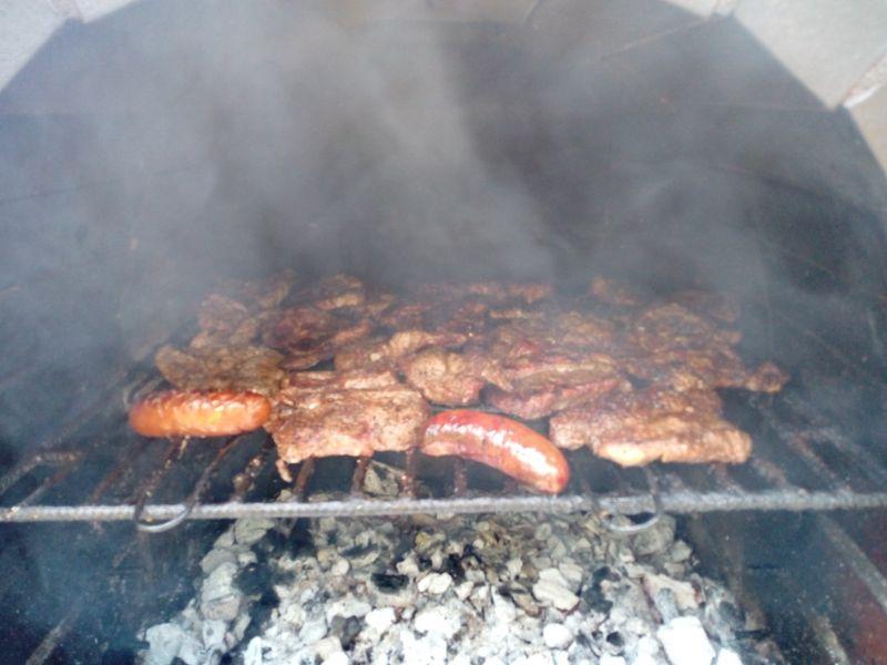 Karkówka barbecue z grilla