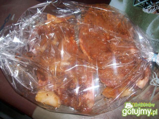 Karkówka w suszonych pomidorach