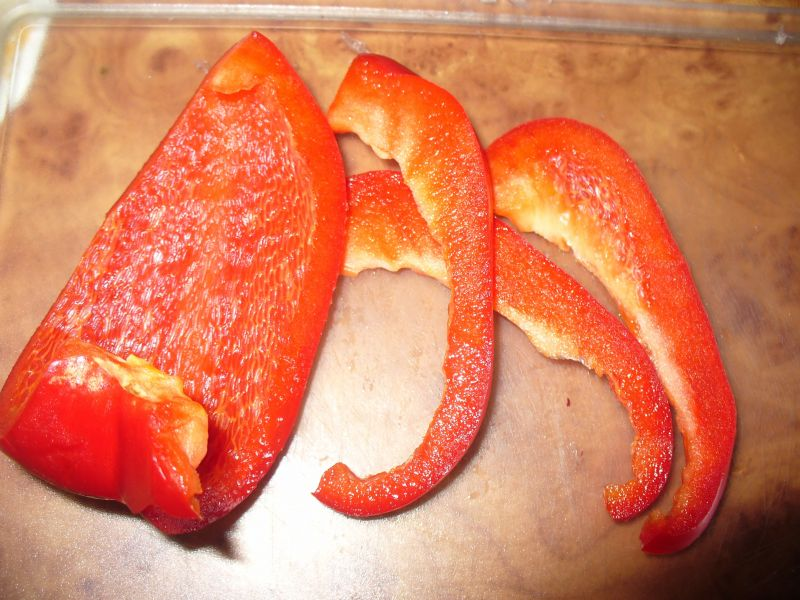 Kasza gryczana z papryką i cukinią