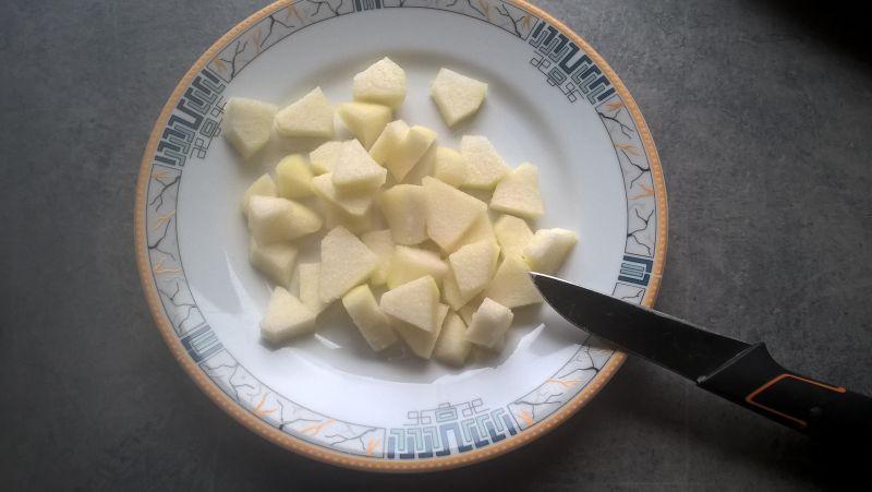 Kasza manna z chia i gruszką