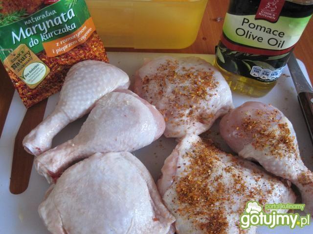 Kawałki kurczaka marynowane z grilla