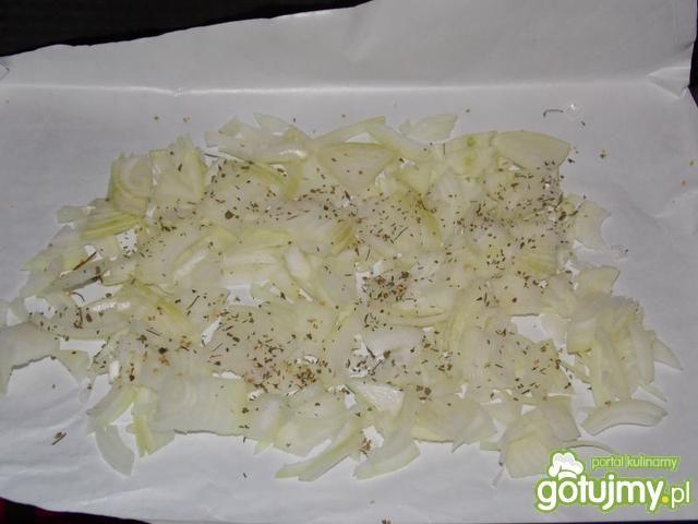 Kiełbasa pieczona z grzankami 4