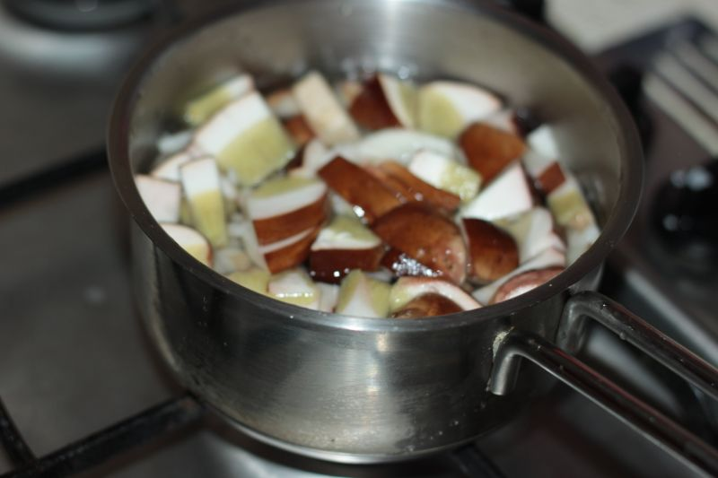 Klasyczna grzybowa zupa