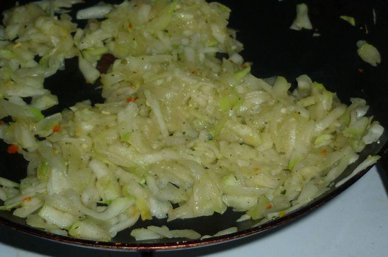 Klopsy wieprzowe z cukinią z parowaru