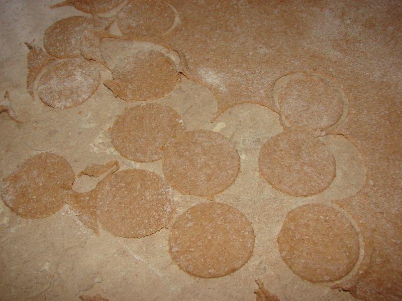 Kluski z mąki pełnoziarnistej
