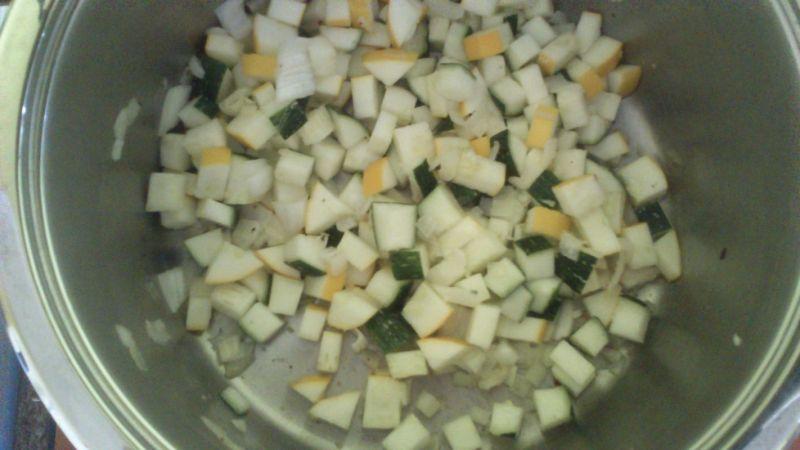 Kokosowa zupka z cukinii