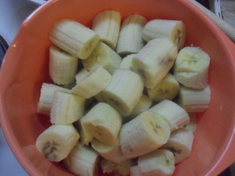 Koktajl bananowo-kokosowy