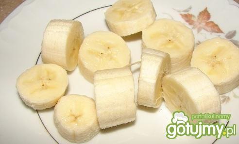 Koktajl bananowy z jogurtem i mlekiem