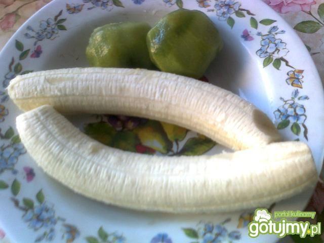 Koktajl bananowy z kiwi 2