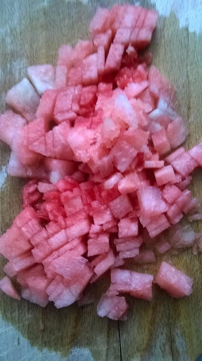 Koktajl brzoskwiniowo - arbuzowy