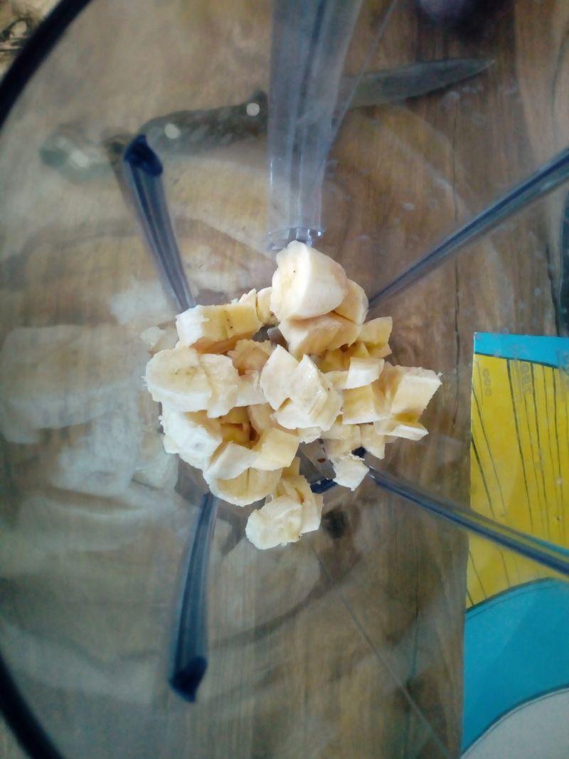Koktajl brzoskwiniowo - bananowy