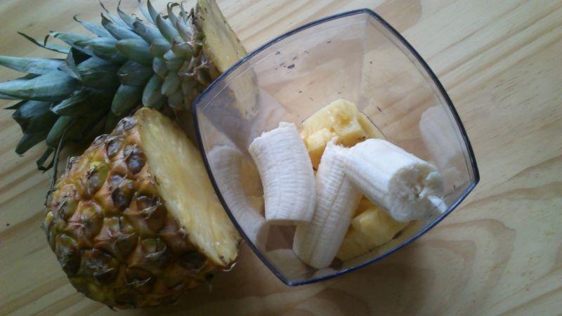 Koktajl kokosowo - ananasowy