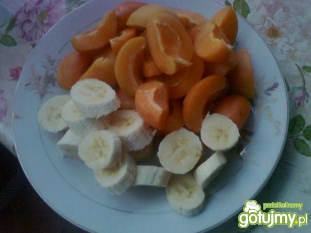 Koktajl morelowo-bananowy