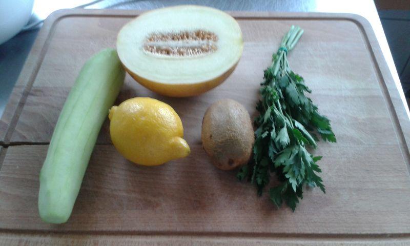 Koktajl z kiwi i melona