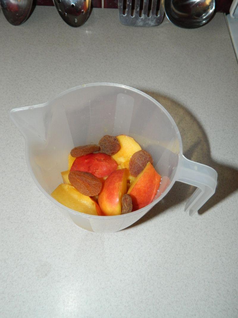 Koktajl z nektarynek i z suszonej moreli