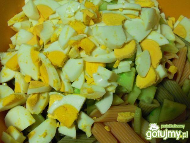 Kolorowa sałatka makaronowa Bernadetty