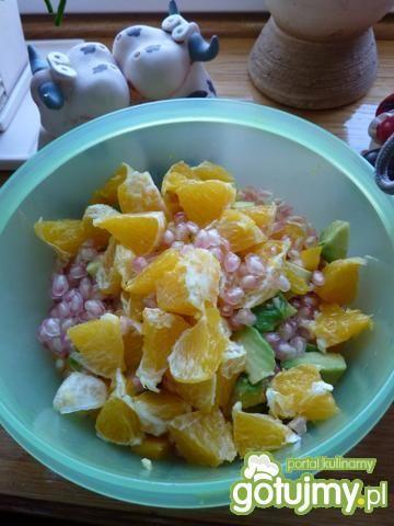 Kolorowa sałatka owocowa