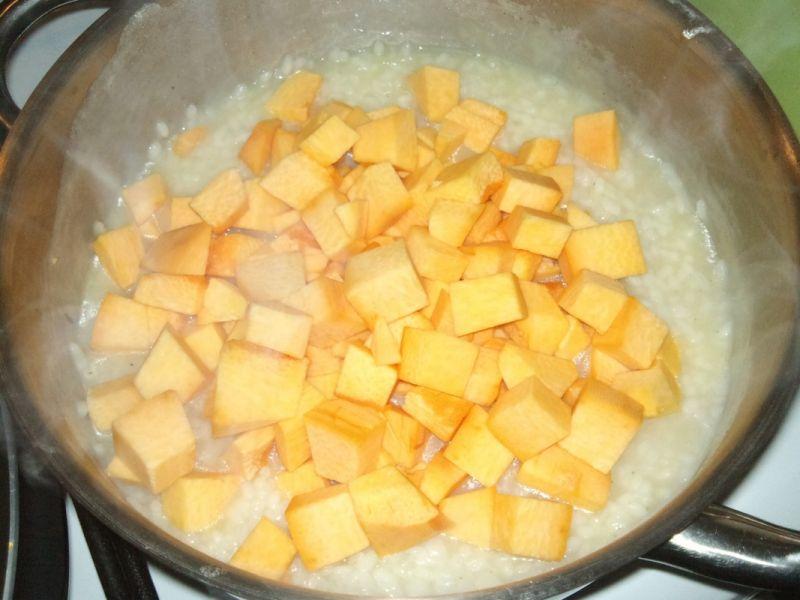 Kolorowe risotto z dynią