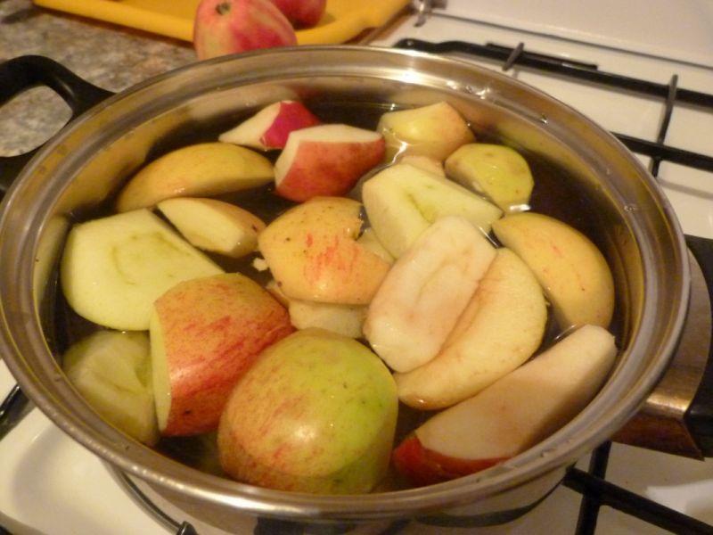 Kompot jabłkowy