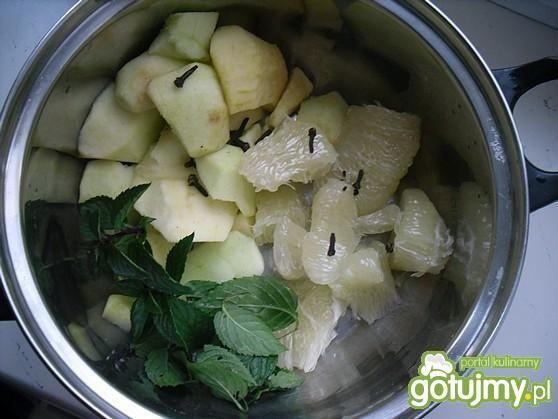 Kompot jabłkowy z pomelo
