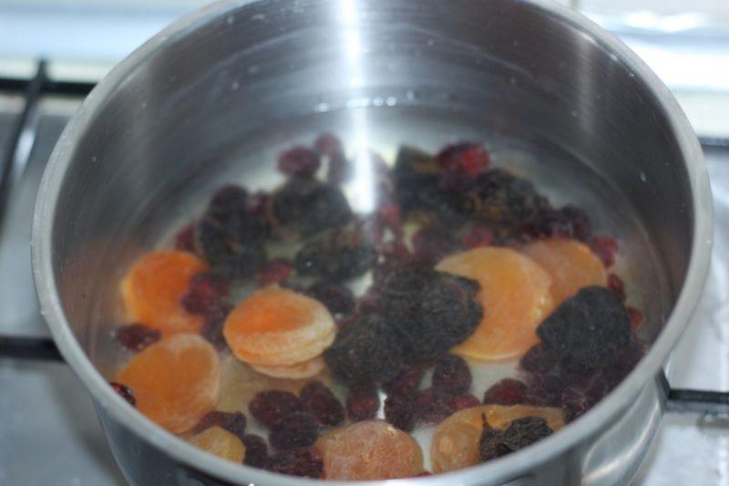 Kompot z suszonych owoców  -susz wigilijny