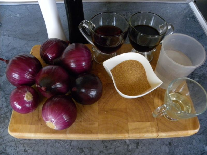 Konfitura z czerwonej cebuli