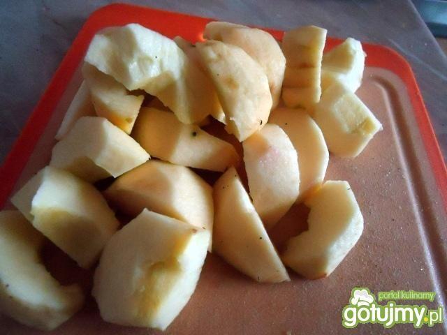 Korzenny kompot z jabłek
