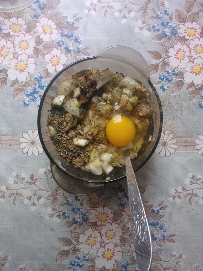 Kotleciki z kaszy gryczanej z puree z białego sera