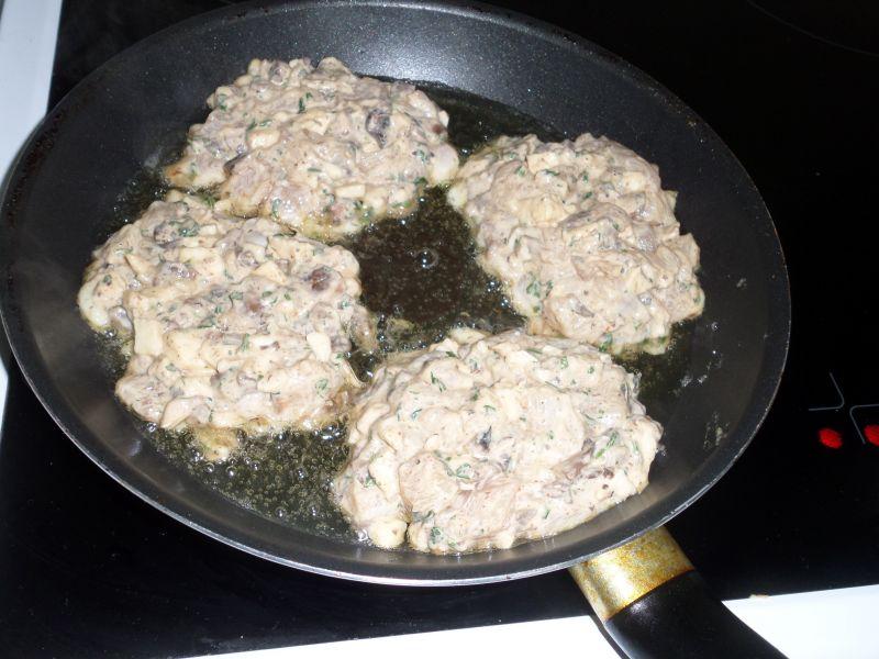Kotleciki z kurczaka i mozzarellą