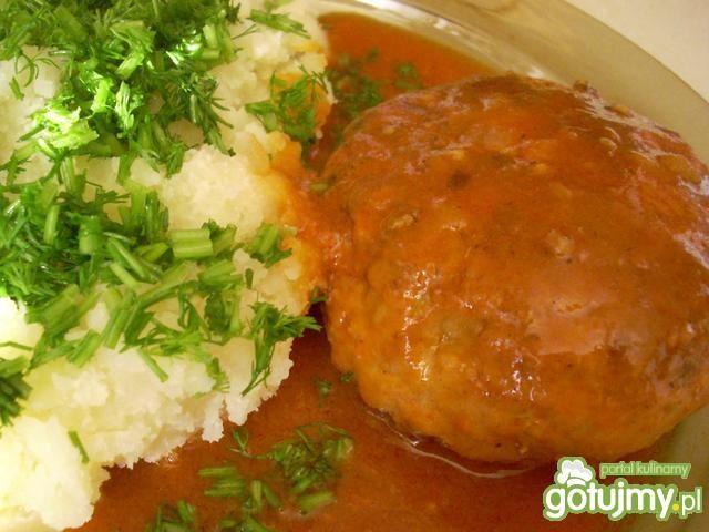 Kotleciki z kurczaka w sosie pomidorowym