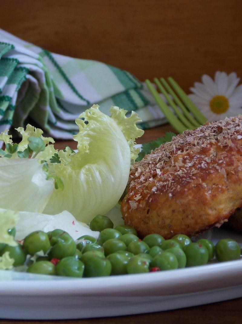 Kotleciki z soczewicy i warzyw