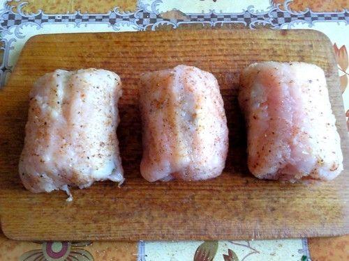 Kotlet de volaille z pieczonymi ziemniaczkami