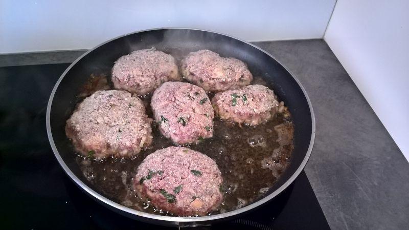 Kotlety mielone z wołowiny