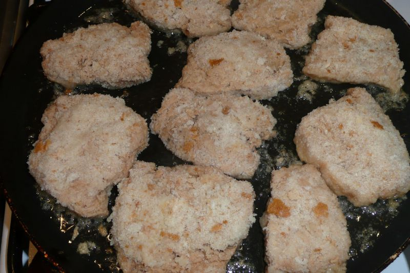 Kotlety sojowe z marchewką