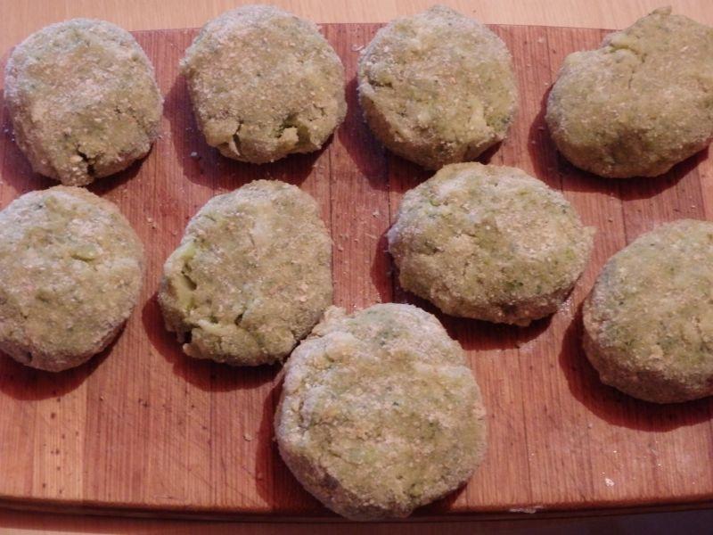 Kotlety z brokuła