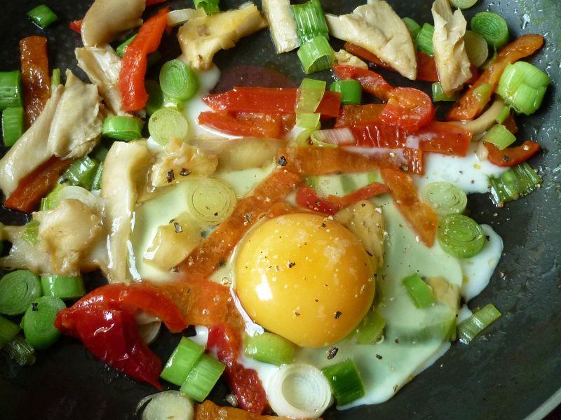 Kotlety z warzywno-jajecznym nadzieniem