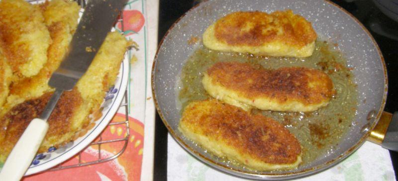 Kotlety ziemniaczano-serowe