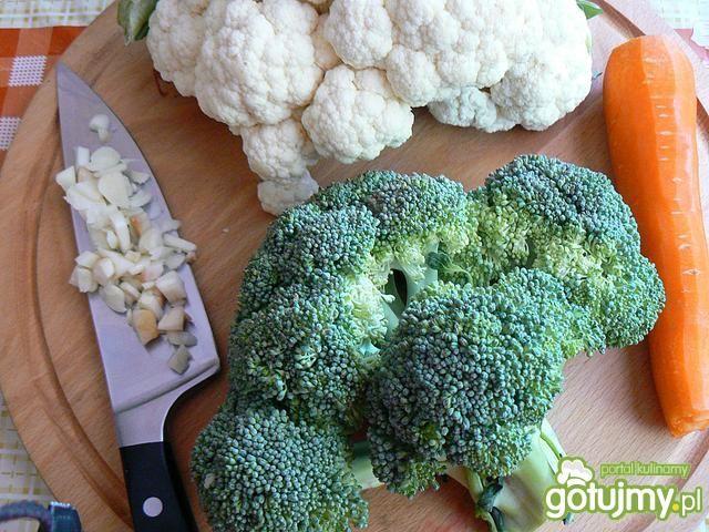 Krem brokułowo kalafiorowy od serca