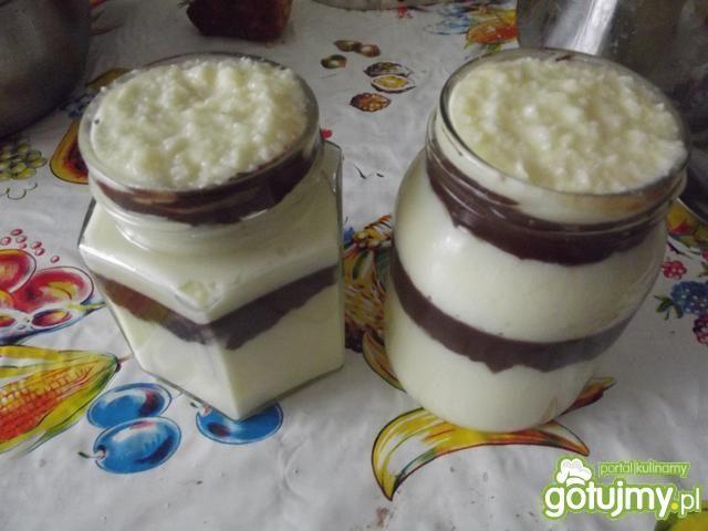 Krem czekoladowo-kokosowy bounty