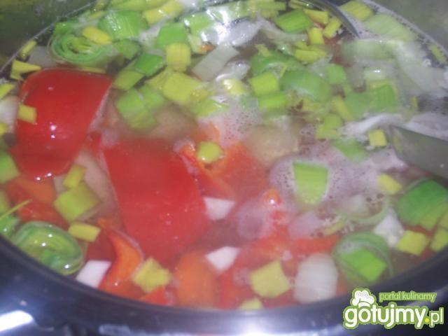 Krem pomidorowo-paprykowy