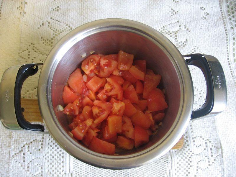 Krem pomidorowy z bazylią