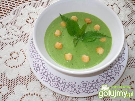 Kremowa zupa z pokrzyw
