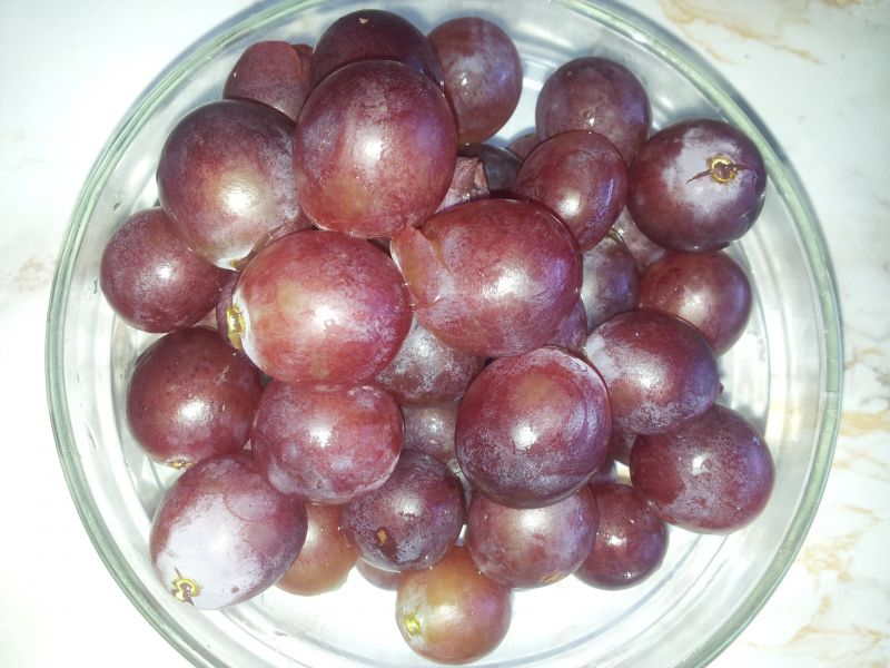 Królik w sosie z ciemnych winogron wg. Irenki