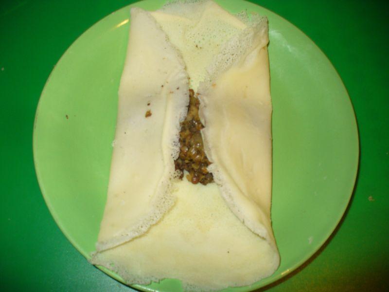 Krotiety z kaszą gryczaną i grzybami