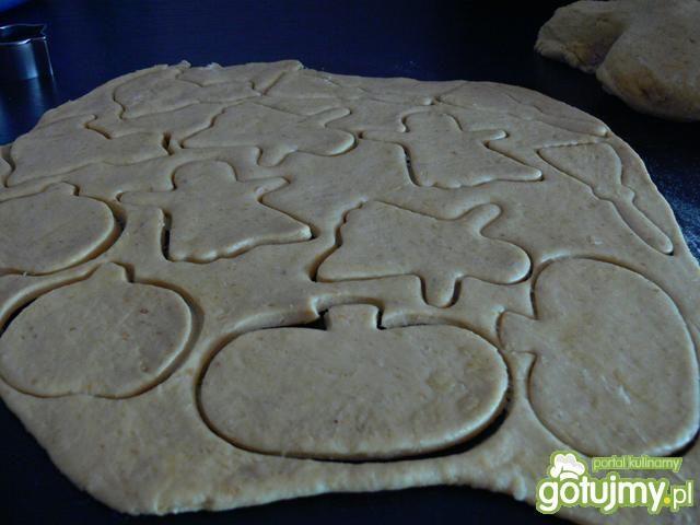 Kruche ciasteczka dyniowo- orzechowe