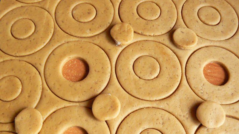 Kruche ciasteczka na bogato