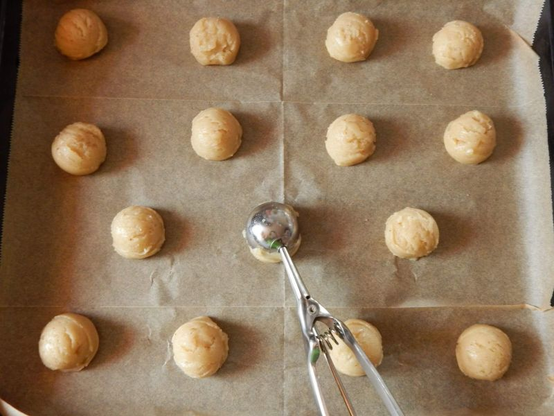 Kruche ciasteczka z kasztanami