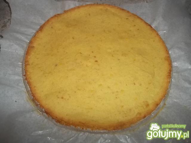 Kruche ciasto z kremem