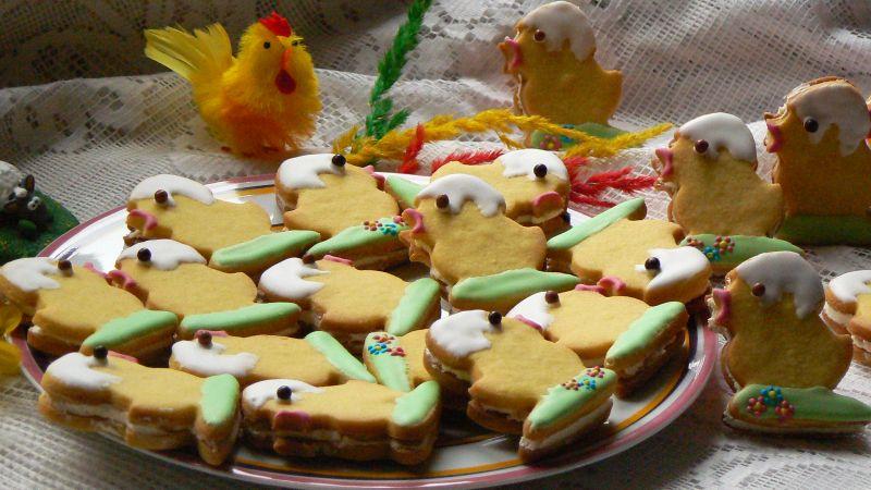 Kruche Wielkanocne ciasteczka