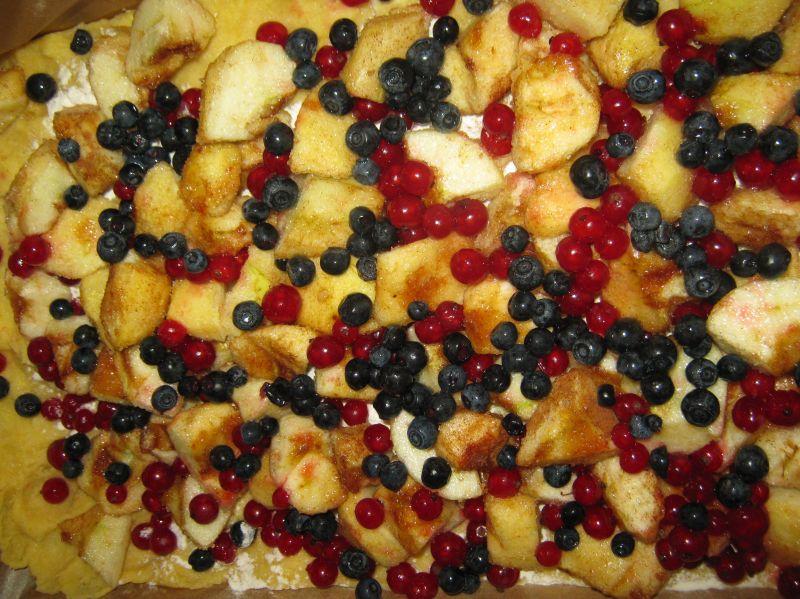 Kruche z owocami